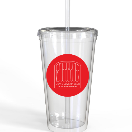 Movie Lovers Club Tumbler